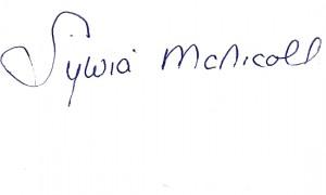Sylvia's Signature